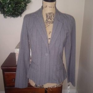 A. Byer Fitted Grey Blazer